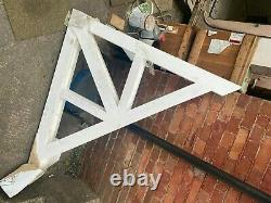 1 x Large Wooden Timber A Frame (Door Canopy, Porch) Front Truss only