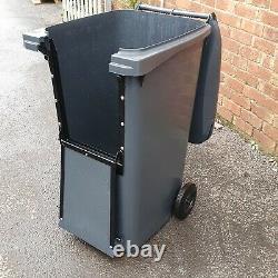 240 Litre wheelie bin Drop Front High Quality Council Standard