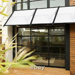 4sizes Door Canopy Awning Shelter Roof Front Back Porch Outdoor Shade Patio Roof