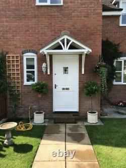 Apex Front Door Pine Porch Canopy + Gallows Brackets (1960mm) (Collection)
