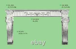 Archway Pillar Porch White Posts Door Canopy Entrance Decor Victorian Front CR0