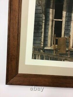 C. M. Grant Front Porch Watercolor Great Oak Frame