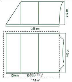 Coleman Canyon 6 front extension porch canopy vestibule 2000032821