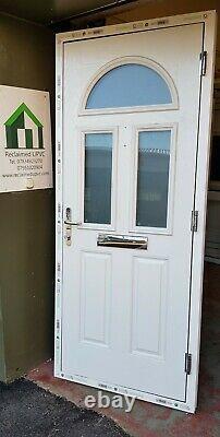 Composite door Blue teal porch Mancave garden room pvc 916x2120 (6468)