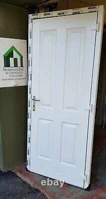 Composite double glazed door Anthracite Grey porch Mancave pvc 902x2080 (6478)