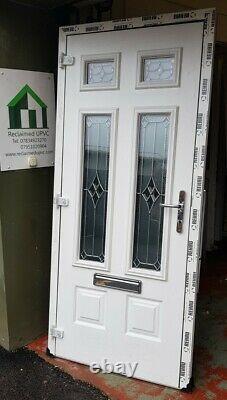 Composite double glazed door Anthracite grey porch entrance upvc 925x2077 (6444)