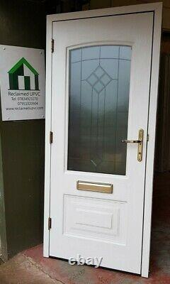 Composite double glazed door Mahogany porch mancave upvc front 920x2060 (6264)