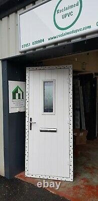 Composite double glazed door blue porch upvc entrance extension 888x2087 6549