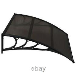 Door Canopy Awning Rain Shelter Outdoor Front Back Porch Shade Patio Cover New