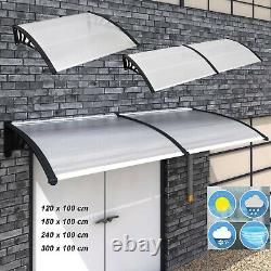Door Canopy Awning Shelter Front Back Porch Patio Roof Outdoor Window Roof New