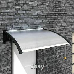 Door Canopy Awning Shelter Outdoor Porch Patio Front Back Window Roof Rain Cover
