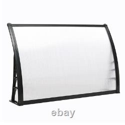 Door Canopy Awning Shelter Roof Front Back Porch Outdoor Shade Patio Roof 4sizes