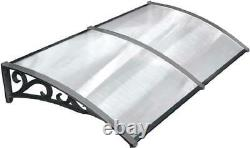 Door Canopy Awning Window Rain Shelter Cover for Front Door Porch Durable