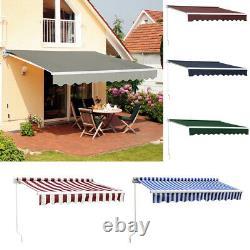 Door Canopy Window Front Porch Overhead Roof Cover Manual Retractable