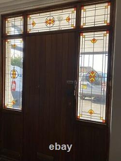 Double Glazed Coloured Glass Panels (Front Door Surround & Door Not Inc)