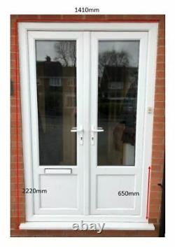 External double glazed french / patio / porch / front doors