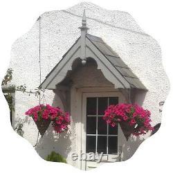 Filcombe Timber Door Canopies- Wooden front door porch canopy gallows bracket