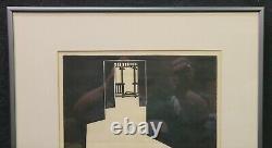 Frank Eckmair Vtg Print Signed Lim Ed Matted Framed Monday Evening Front Porch