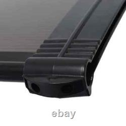 Front Door Canopy Black Rain Protector Porch doorway Shade Awning Shelter Cover