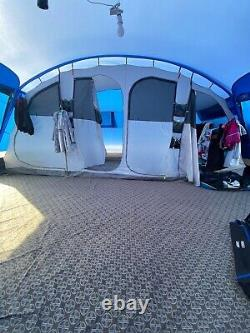 Hi Hear Oasis 8 Tent, Front Porch, Canopy, Carpet And Groundsheet Included