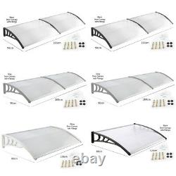 Home Deluxe Awning Shelter Door Canopy Front Back Rain Cover Porch Outdoor Shade