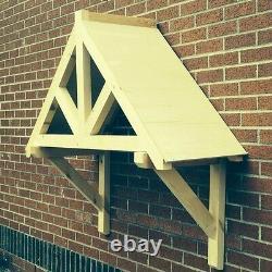 Kingsbridge -Timber Door Canopies-wooden front door porch canopy gallows bracket