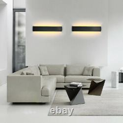 LED Wall Fixture Light Acrylic Mirror Front Lamp Stair/Step Living Room Bathroom