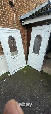 Matching Pair Of Upvc Front Doors Back Door Porch Door