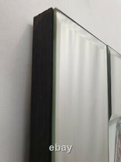 Mirror Frame Gucci Shop Front Pic Glitter Liquid Crystal Glass Wall Art 96x76cm