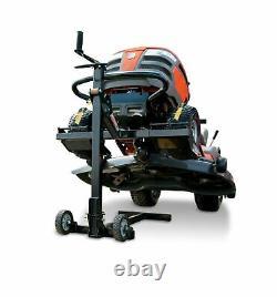 MoJack EZ Residential Riding Lawn Mower Lift, 300lb Lifting Capacity, Fits