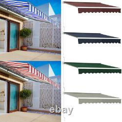 Modern Door Window Front Back Porch Overhead Roof Cover Outdoor Shad Canopy