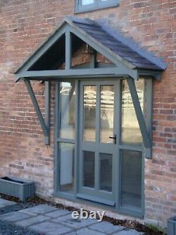Modern Timber Front Door Canopy Porch awning canopies Handmade not Oak