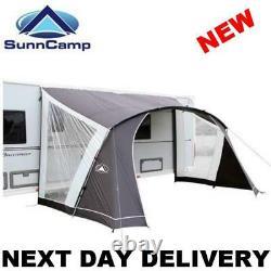 New 2021 Model 75d Sunncamp Swift 390 Caravan Sun Canopy Awning Open Porch Front