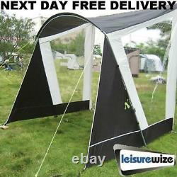 New 2021 Model Helios 260 Caravan Sun Shade Canopy Awning Open Porch Front Swift