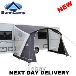 New 75d 2021 Sunncamp Swift 330 Caravan Sun Canopy Awning Open Porch Front