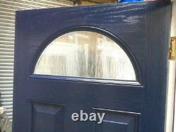 New Blue UPVC Composite Extreme Built Range Front Door Set UPVC Frame 2075X875