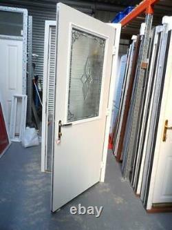 New Pebble Composite Front Door Set UPVC Frame 2105 X 950