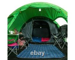 New Regatta 4 man tunnel tent with front porch used once too big for me