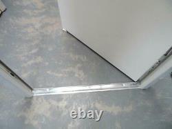 New White Composite Front Door Set UPVC Frame 2100 X 1005