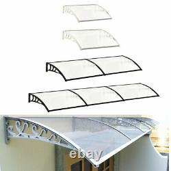Outdoor Door Window Awning Canopy Front Back Porch Patio Cover Yard Rain Shelter