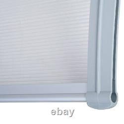 Outsunny Patio Door Awning Canopy Porch Window Front Back Rain Cover 140 x 70cm