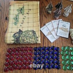 RARE CHEST STYLE DREAD PIRATE BOARD GAME by FRONT PORCH CLASSICS COMPLETE