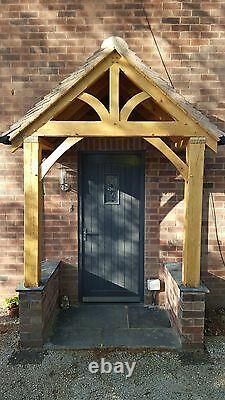 REDWOOD PORCH FRONT DOOR CANOPY HANDMADE IN SHROPSHIRE Grosvenor NOT OAK