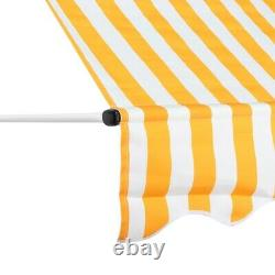 Retractable Over Door Canopy Porch Front Rain Cover Awning Shelter Outdoor Patio