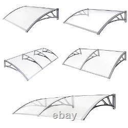 Songmics Door Canopy Front and Back Awning Porch Shelter Outdoor Patio Cover