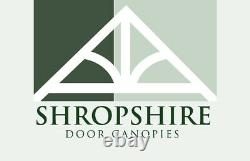 Timber Front Door Canopy Porch, CROSSMEREHand made Shropshire awning canopies