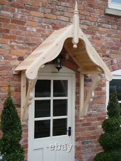 Timber Front Door Canopy Porch, THE LUDLOW
