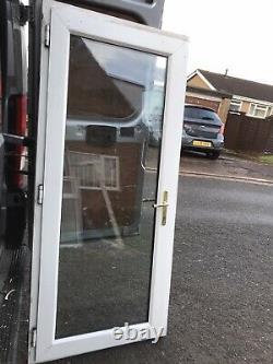 Upvc Door Front Mahogany 920 2055 Garage Shed Porch Kitchen New