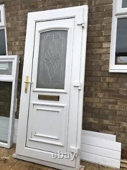 Upvc Door Front White 900 2090 Garage Shed Porch Kitchen