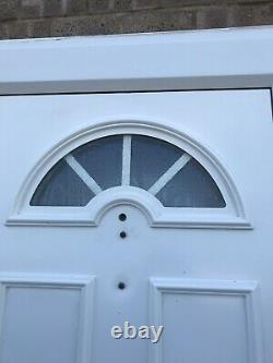 Upvc Door Front White 920 2055 Garage Shed Porch Kitchen New